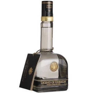 "Vodka Super Premium ""De Luxe Russian Legend of Kremlin l"""