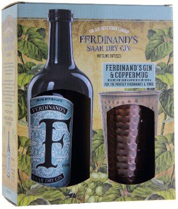 "Ferdinand'S Saar Dry Gin + Tazza di Rame ""F"""