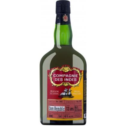 Compagnie des Indes Dom.Republic Rum 13 Ans
