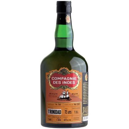 Compagnie des Indes Trinidad 15 ans (Distillerie T.D.L)