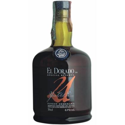 """El Dorado Demerara Rum 21 Year """"Special Reserve"""""""
