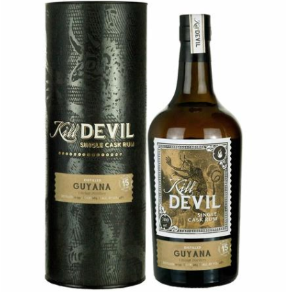 Kill Devil Rum Guyana 15 Year Single Cask (1999 Uitvlugt)