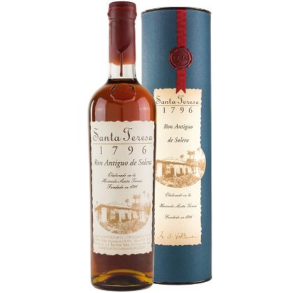 Rum Santa Teresa 1796 Ron Antiguo De Solera