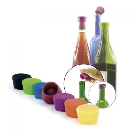 Tappo In Silicone Per Vino (2pcs.)