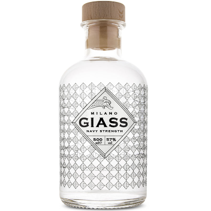 GIASS Milano London Dry Gin - Navy Strength