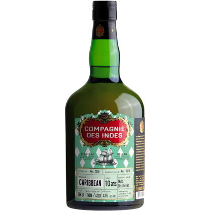 Compagnie Des Indes Caribbean 10ans Single Cask