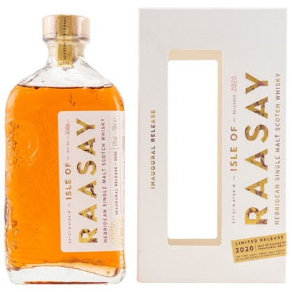 Isle of Raasay Single Malt Inaugural Release 2020