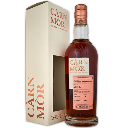 Mannochmore 2007 13 Years Old - Càrn Mòr Strictly Limited