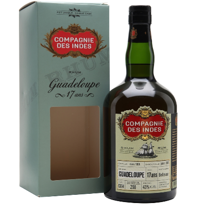 Compagnie Des Indes Guadeloupe 17 Anos Single Cask