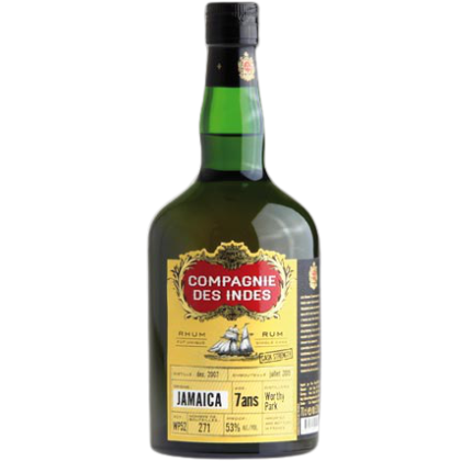 Compagnie Des Indes Jamaica 7 Anos Single Cask Stremgth