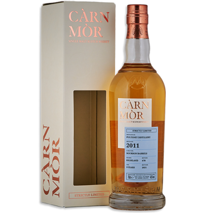 PULTENEY 9 YEARS OLD – CÀRN MÒR STRICTLY LIMITED
